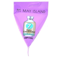 May Island. 7 days Highly Concentrated Hyaluronic Ampoule - Сыворотка с гиалуроновой кислотой (треугольник) 7гр