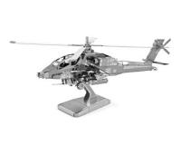 Металлический 3Д пазл Z 21108 Вертолет Apachi AH 64