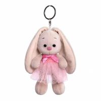 Мягкая игрушка-брелок «Зайка Ми в розовой юбке и с бантиком», 14 см 5260925