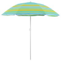 Зонт пляжный «Модерн» с серебряным покрытием, d=160 cм, h=170 см, МИКС 119122