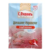 Мороженое домашнее «С. Пудовъ», клубничное, 70 г 3123912