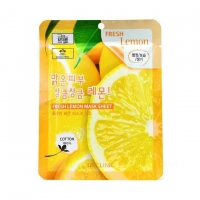 3W Clinic. Fresh Lemon Mask Sheet - Тканевая маска для лица ЛИМОН