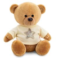 Мягкая игрушка «Медведь Топтыжкин», звезда, цвет коричневый, 17 см 4700207