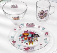 Набор посуды L.O.L. Surprise!, 3 предмета 4674827