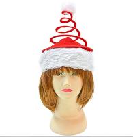 Новогодняя шапочка-спираль