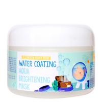 ELIZAVECCA. Water Coating Aqua Brightening Mask - Глубоко увлажняющая крем-маска для лица