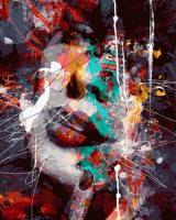 OK 11081 Абстрактный портрет