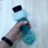 Бутылка в виде гантели