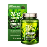 Farm Stay. All In One Green Tea Seed Ampoule - Ампульная сыворотка с зеленым чаем (250мл)