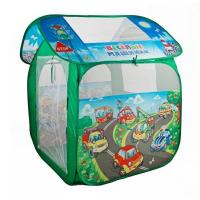 """Палатка детская игровая """"Веселые машинки"""" в сумке GFA-AUTO-R"""