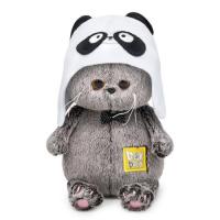 Кот Басик BABY в шапке - панда 20см. BB-070
