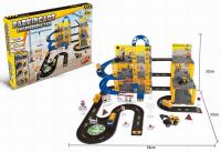 Парковка-гараж 0908 - 19А с инженерной техникой, 89 деталей