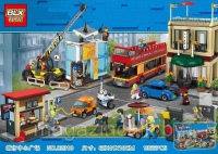 Конструктор. Cities (1355дет) 82310 Столица