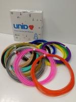 Набор пластика для 3D ручек: PLA-15 (по 10м. 15 цветов в коробке)