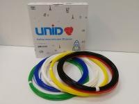 Набор пластика для 3D ручек: PLA-6 (по 10м. 6 цветов в коробке)