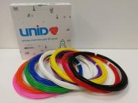Набор пластика для 3D ручек: PLA-9 (по 10м. 9 цветов в коробке)