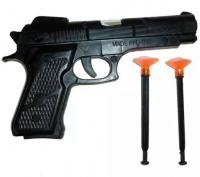 Пистолет с присосками, в пакете 2019A