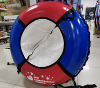 Тюбинг ПВХ 110см (красно-синий)