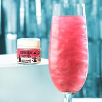 Шиммер для напитков и кальяна «Перламутр розовый», 5 г. 7183359