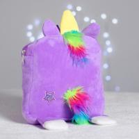 Рюкзак «Волшебный единорог», плюшевый 4688785