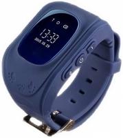 Детские часы с GPS Smart Baby Watch Q50 (темно-синие)