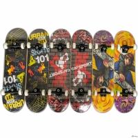 Скейтборд Grinder, (79*20см), 9 слоев