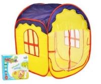 Детская игровая палатка 317-MR Дом - квадрат, в коробке