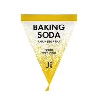 J:ON Baking Soda Gentle Pore Scrub - Скраб-пилинг для лица СОДОВЫЙ (треугольник) 5гр
