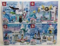 Конструктор. Холодное сердце (Frozen) (186+дет) SY 1428