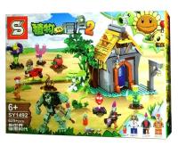 Конструктор. Зомби против растений (Plants vs Zombies) (дет) SY 1492