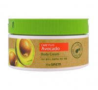 The Saem. Care Plus Avocado Body Cream - Питательный крем для тела с экстрактом авокадо. 300мл