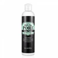 Secret Key. Black Out Pore Clean Toner - Тонер с древесным углем для очищения и сужения пор