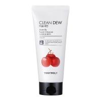 Tony Moly. Clean Dew Acerola Foam Cleanser - Тонизирующая пенка для умывания с экстрактом ацеролы