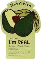 Tony Moly. I'm Real Avocado Mask Sheet - Тканевая маска с экстрактом Авокадо