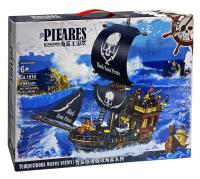 Конструктор. Pirates of the Caribbeans Пиратский корабль (704дет) QL 1810
