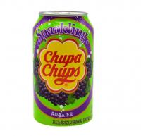 Газированный напиток Chupa Chups «Виноград», 345мл 6385034