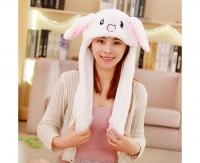 Шапка зайца (белая)