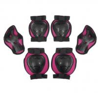 Защита роликовая OT-2015, размер S, цвет розовый 134223
