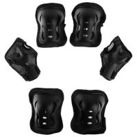 Защита роликовая OT-2020 р M, цвет черный 134230