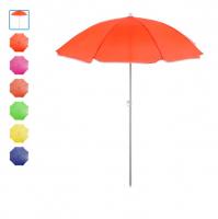 Зонт пляжный «Классика», d=150 cм, h=170 см, МИКС 119125