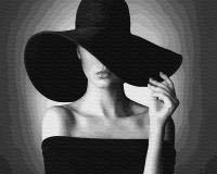ZX 22414 Дама в черной шляпе