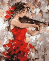 ZX 23307 Девушка со скрипкой